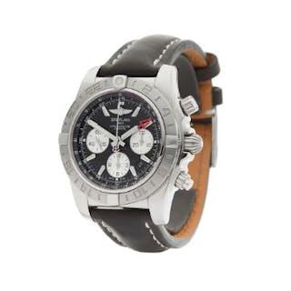 2014 Breitling Chronomat Gmt Chronograph Stainless Steel...