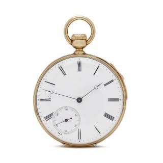 1856 Patek Philippe Pocket Watch Quarter Minute Repeater...
