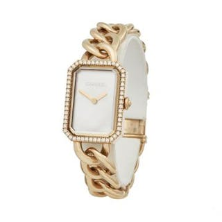2018 Chanel Montre Premiere Mother of Pearl Diamond 18k...