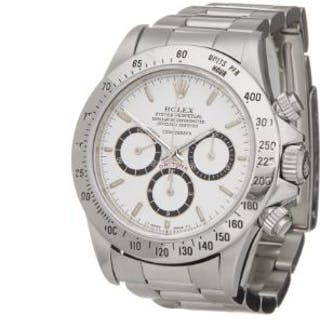 1989 Rolex Daytona Floating Cosmograph Stainless Steel...