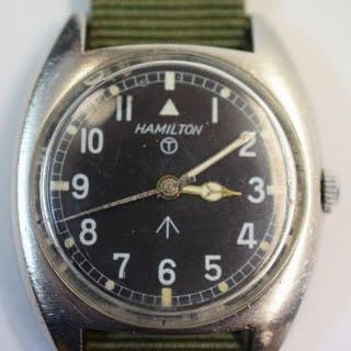 Hamilton military watch from c1970s