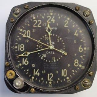 WW2 American Navy 8 Days Clock by Waltham