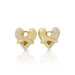 Brand: Boodles Description: 18k Yellow Gold Diamond Hug...
