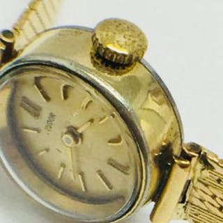 Ladies Rolex Tudor Watch Stainless Steel With 18ct Yellow...
