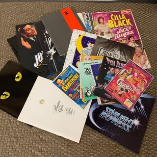 A collection of theatre programmes to include Peter Pan 1993 and Starlight