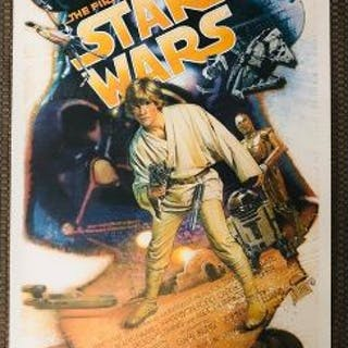 ORIGINAL 1987 STAR WARS 10th Anniversary DREW STRUZAN SIGNED & NUMBERED