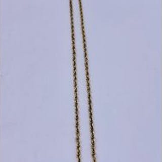 A 9ct gold necklace (8.74g)