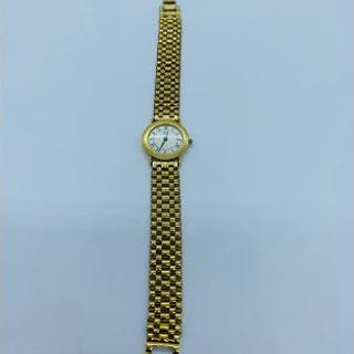 A Mappin & Webb gold plated Ladies watch.
