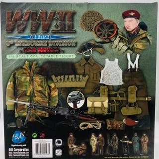 WWII 1/6 Scale British 6th Airborne Division Red Devils 'Michael Taylor' Figure