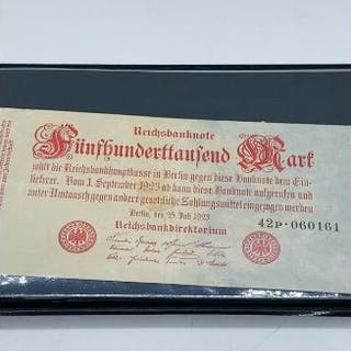 An Album of Twenty German Banknotes 1914-1923