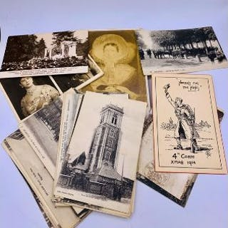 A selection of Vintage postcards