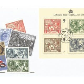 London 2010 Festival of Stamps unsigned FDC series 4 cover No9. Date