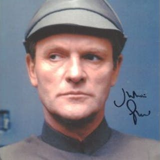 Star Wars. Nice 8x10 photo signed by Star Wars actor Julian Glover
