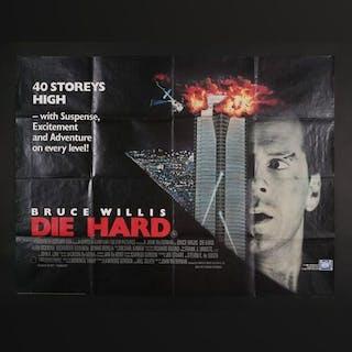 Lot #4 - DIE HARD (1988) - UK Quad Poster 1988