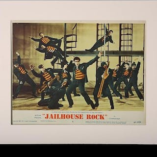 Lot #50 - JAILHOUSE ROCK (1957) - US Lobby Card #5 1957