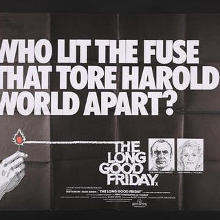 Lot #80 - THE LONG GOOD FRIDAY (1980) - UK Quad Poster 1980