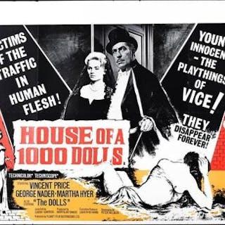 Lot #267 - HOUSE OF A 1000 DOLLS (1967) - UK Quad Poster 1967