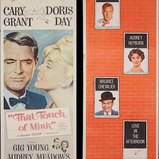 Lot #345 - LOVE IN THE AFTERNOON (1957) AND THAT TOUCH OF MINK (1962)