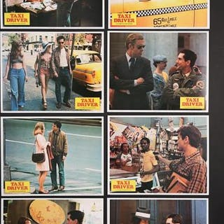 Lot #413 - TAXI DRIVER (1976) - US Lobby Card Set 1976