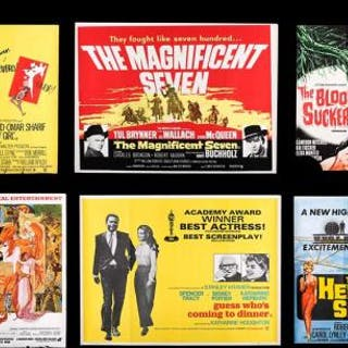 Lot #428 - VARIOUS PRODUCTIONS (1960S-70S) - Eighteen UK Quad Posters 1960s-70s