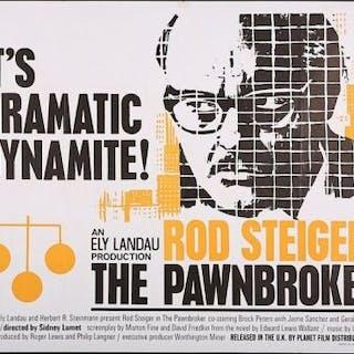 Lot #9 - THE PAWNBROKER (1964) - UK Quad Poster 1964