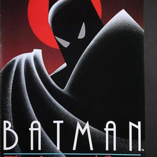 Lot #45 - BATMAN: THE ANIMATED SERIES (1992) - US TV Poster 1992