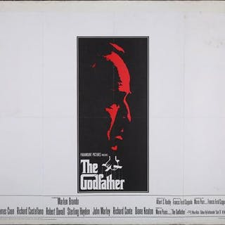 Lot #75 - THE GODFATHER (1972) - UK Quad Poster 1972