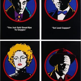 Lot #85 - DICK TRACY (1990) - Four US One-Sheet Teaser Posters 1990