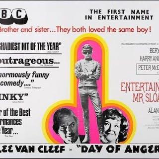 Lot #87 - ENTERTAINING MR SLOANE (1970) - UK Quad Poster 1970