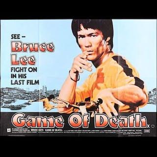 Lot #89 - GAME OF DEATH (1978) - UK Quad Poster 1978