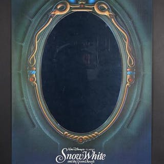 """Lot #212 - SNOW WHITE AND THE SEVEN DWARFS (1937) - US One-Sheet """"Mirror"""""""