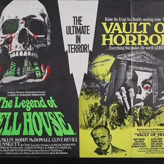 Lot #384 - VARIOUS PRODUCTIONS (1970-85) - Five UK Quad Posters Two