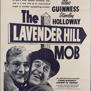 Lot #431 - THE LAVENDER HILL MOB (1951) - US One-Sheet Poster 1951