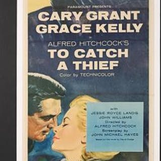 Lot #191 - TO CATCH A THIEF (1955) - US Insert Poster 1955