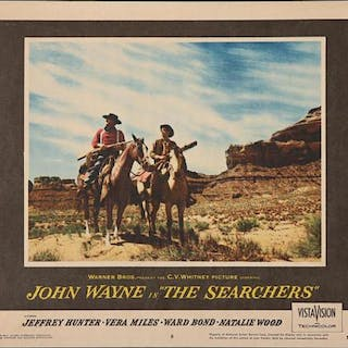 Lot #414 - THE SEARCHERS (1956) - US Lobby Card #8 1956