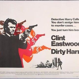 Lot #241 - DIRTY HARRY (1971) - UK Quad Poster 1971