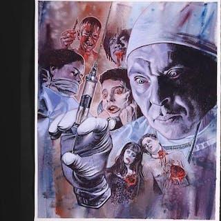 Lot #272 - DR GIGGLES (1992) - German Original Final Blu-Ray Artwork 2017