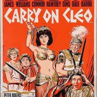 Lot #22 - CARRY ON CLEO (1964) - UK Lift Bill Original Final Artwork