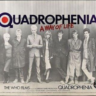Lot #56 - QUADROPHENIA (1979) - UK Quad Poster 1979