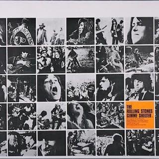 Lot #58 - GIMME SHELTER (1970) - UK Quad Poster 1970