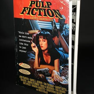 Lot #72 - PULP FICTION (1994) - UK Video Standee 1995