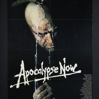 Lot #109 - APOCALYPSE NOW (1979) - German A1 Poster 1979