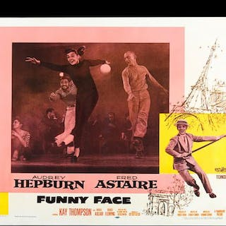 Lot #111 - FUNNY FACE (1957) - US Half-Sheet Poster 1957