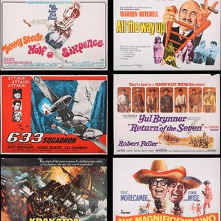 Lot #430 - VARIOUS PRODUCTIONS (1960S-70S) - Seventeen UK Quad Posters