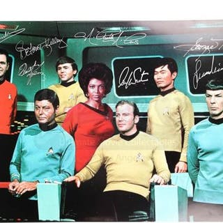 Lot #641 - STAR TREK (TV SERIES 1966-1969) - Cast-Autographed Photograph