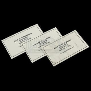 Lot # 390: MARVEL'S JESSICA JONES (TV SERIES) - Set of Three Alias