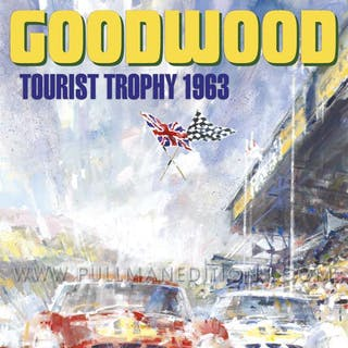 1963 Goodwood Tourist Trophy Poster