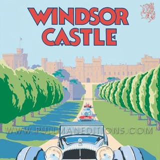 Windsor Castle Concours of Elegance 2012 Poster