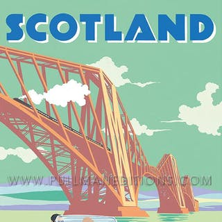 Morgan Plus 8 – Scotland Poster
