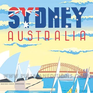 Sydney Harbour – Australia Poster